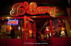Jo'burg, bar on Long Street, Cape Town, South Africa.