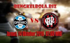 Prediksi Gremio Porto Alegre vs Atletico Paranaense 14 Oktober 2016