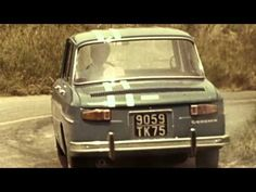 The Renault 8 Gordini drifting all over the place.