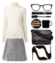 """Fall Job Interview"" by katsin90 ❤ liked on Polyvore featuring Thom Browne, Viktor & Rolf, Chloé, Christian Louboutin, Givenchy, iittala and Christian Dior"