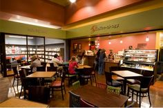 Coffee-ol-olgy, a global cuisine cafe, is located on the library plaza. They have coffee, a variety of lunch plates, and many scrumptious treats!