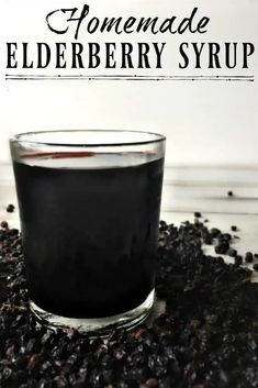 This Homemade Elderberry Syrup is great for warding off colds and flu but it's also helpful for promoting health if you do get sick! Make your own elderberry syrup and save over $15 per batch! #elderberry #elderberrysyrup #flu #naturalremedies #howtomake #fluseason #herbalremedies #diy #natural #simple Flu Remedies, Holistic Remedies, Herbal Remedies, Health Remedies, Home Remedies, Natural Remedies, Natural Treatments, Holistic Healing, Natural Medicine