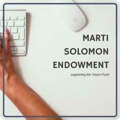 Created to honor the memory of a long-time WMU employee, the Marti Solomon Endowment supports the ministries of WMU through a yearly distribution to the Vision Fund. #wmufoundation #visionfund #Endowments
