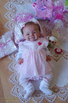 KAMILKA: James - Sandy Faber:Dolls as Live Made with Love - SUNSHINE BABIES (smile - reborn dolls) Girls Dresses, Flower Girl Dresses, Baby Smiles, Reborn Dolls, Sunshine, Babies, Live, Gallery, Flowers
