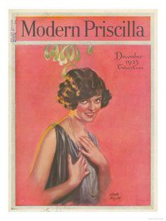 §§§ : Modern Priscilla cover : 1923
