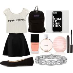 Back to school outfit for middle school #2