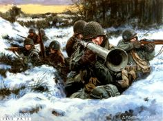 "American WW2 ""Battle of the Bulge"""