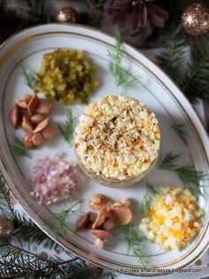 moj-ulubiony-tatar-ze-sledzia Christmas Cooking, Christmas Eve, Xmas, Fish And Seafood, Finger Foods, Menu, Vegetables, Silent Night, Impreza