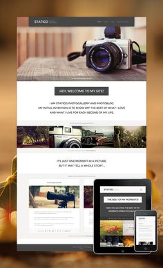 Statico - Photogallery and Photoblog