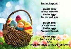 Grade ONEderful: Easter Poem Freebie