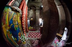Take a spin around the 12th century rock cut churches of Lalibela, Ethiopia with this 360-degree panorama.