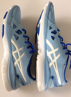 3a46bce6ab805 Asics Gel-Fit Nova blue women s running shoes size 10  ASICS  Running