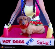 this is awesome, but i'd have to get a cart, my doxie is too heavy