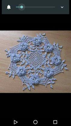 Crochet Doily Patterns, Crochet Doilies, Easter Crochet, Crochet Projects, Tatting, Diy And Crafts, Handmade, Cool Crafts, Crochet Flowers