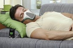 AIRE... Charge your iPhone by breathing.
