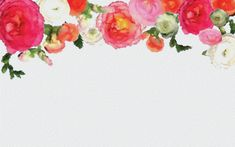 flowers watercolor png - Google Search