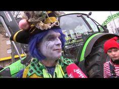 ▶ Der Karnevalszug in Schlebusch 2014 - YouTube