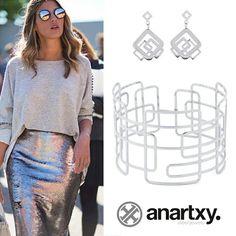 ¿Preparada para destacar?  http://www.anartxy.com/es/  #anartxy #JoyasEnAcero #JóiasEmAço #SteelJewel #BijouxEnAcier #estilo #style #tendencia #trend #bracelet #pendientes #earrings #moda #fashion #joyas #acero316L