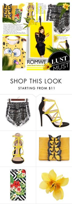 """""""Romwe"""" by tinaisapenguin ❤ liked on Polyvore featuring ALDO and Nancy Gonzalez"""