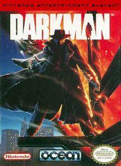 #Darkman - Label or Box Art #nintendo games #gamer #snes #original #classic #pin #synergeticideas #gameon #play #award