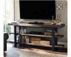 Мебель ручной работы. Ярмарка Мастеров - ручная работа. Купить Консоль по тв .. Handmade. Полка из дерева, массив, стул, сосна