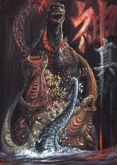 SHIN GODZILLA in all his terrifying forms!