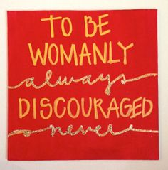 Chi Omega Painting  To Be Womanly Always Discouraged by ginnijones, $8.00