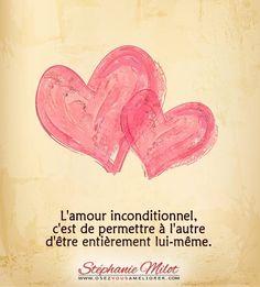 L'amour inconditionnel ...