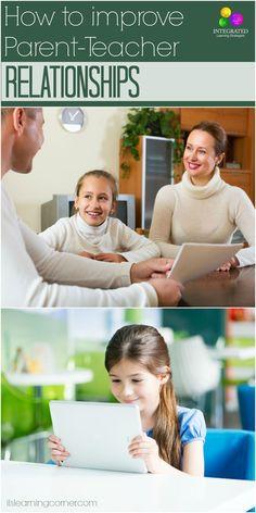 Smart Ways to Make a Positive Relationship with Your Child's Teacher   ilslearningcorner.com #parenteacher #parentteacherconference