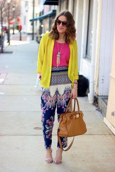 style tab, boston fashion blogger, printed pants