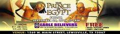 This Months EBIC Movie Night Features Prince of Egypt! Come One Come All, its FREE!!