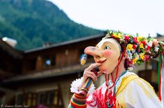 Canazei, Ladin people of Trentino.