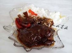 S VAŘEČKOU - zvěřina - SRNČÍ plátky na pivě Steak, Beef, Food, Meat, Essen, Steaks, Meals, Yemek, Eten