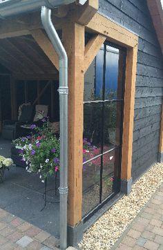 douglas kapschuur Outdoor Rooms, Garden Buildings, Garden Design, Garden Living, Garden Room, Black House, Garage Guest House, Home And Garden, House Exterior