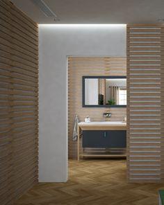 Proyecto de interiorismo en 3D, dormitorio principal con baño. Freelance 3D Madrid 07 alfonsoperezalvarez.com