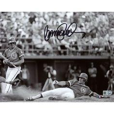 "Ryne Sandberg Chicago Cubs Fanatics Authentic Autographed 8"" x 10"" Sliding Home Photograph - $119.99"