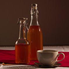 Pigwowy sok do herbaty