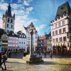 Central Market Square, Trier, Germany