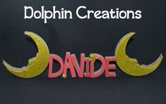 Nome o scritta tridimensionale , by Dolphin Creations - Handmade by Laura, 10,00 € su misshobby.com