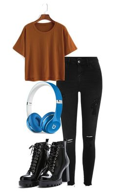 """grunge"" by aaisha123 ❤ liked on Polyvore featuring River Island and Beats by Dr. Dre"