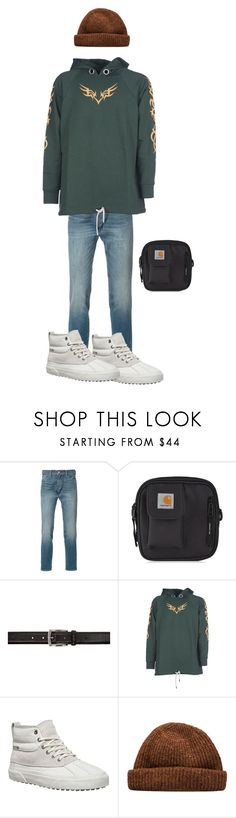 """""""Jerry"""" by kevin-whitcanack on Polyvore featuring Levi's, Carhartt, Tiger of Sweden, Palm Angels, Vans, men's fashion and menswear"""