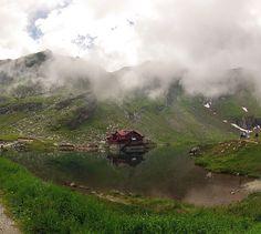 Lake view at Motoride Transylvania