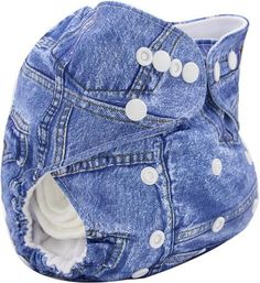Washable Diapers Baby Diaper Cover Wrap Cartoon Print Nappy Changing Reusable Cloth Diapers