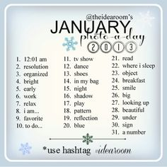 Love it. Instagram Photo a day January 2013
