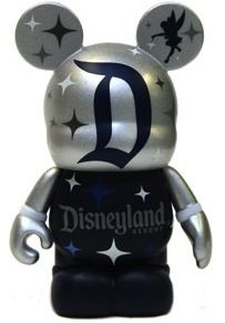 DRI - Disneyland Silver D Logo