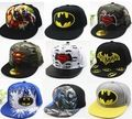 Лидер продаж многих Стиль дети мультфильм Snapback малыш плоские вдоль Бейсбол Кепки хип-хоп шляпа Открытый Кепки 48-53 см