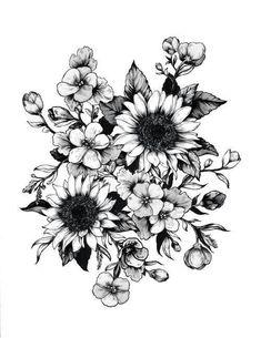 ... Forearm flower tattoo Sunflower tattoo sleeve and Sunflower tattoos