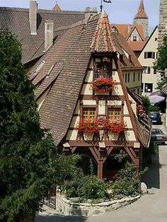 Rothenburg, Germany I have ben here, wanna go back!