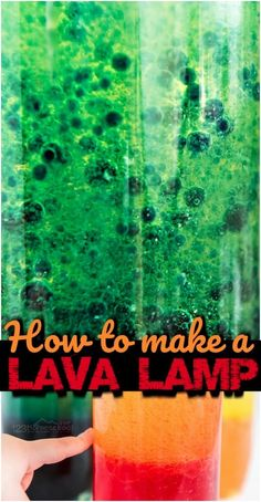 DIY Lava Lamp - super easy way to make your own lava lamp with simple things you have around your house. This homemade lava lamp is such a fun science project for kids of all ages to sneak in some summer learning. Science Projects For Kids, Science Activities For Kids, Preschool Science, Science Experiments Kids, Lessons For Kids, Steam Activities, Science Fun, Kid Projects, Science Lessons