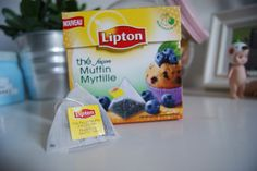 Thé Lipton façon muffin myrtille